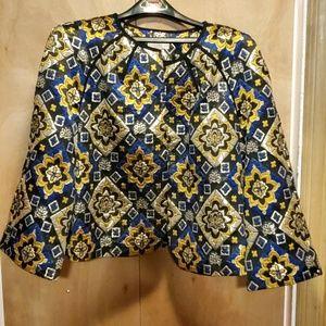 Ann Taylor brocade jacket size large